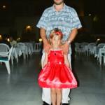 Скульптор Александр Рябичев с дочерью Даниэлой на отдыхе