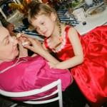 Валентина Борунова  с внучкой Даниэлой Рябичевой