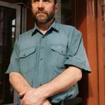 """Скульптор Александр Рябичев на выставке """"Династия"""" 15 мая 2010 года в галерее """"Даев,33"""""""