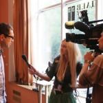 """Интервью с известным светским фотохудожником Алексеем Никишиным, 15 мая 2010 года, на выставке """"Династия"""" в галерее """"Даев,33"""""""