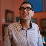 """Алексей Никишин-известный фотохудожник, 15 мая 2010 года, на выставке """"Династия"""""""