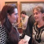 Вера Белова (справа)- певица, лауреат Международных конкурсов