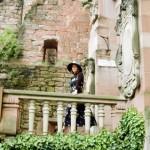 Александра Загряжская. Замок в Хайдельберге. Фото Александра Рябичева.