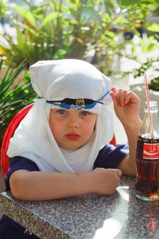 Дочь Александра Рябичева  Даниэла в путешествии по арабскому Востоку