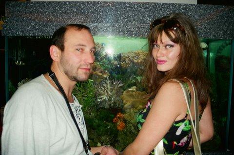 Супруги Александр Рябичев и Александра Загряжская